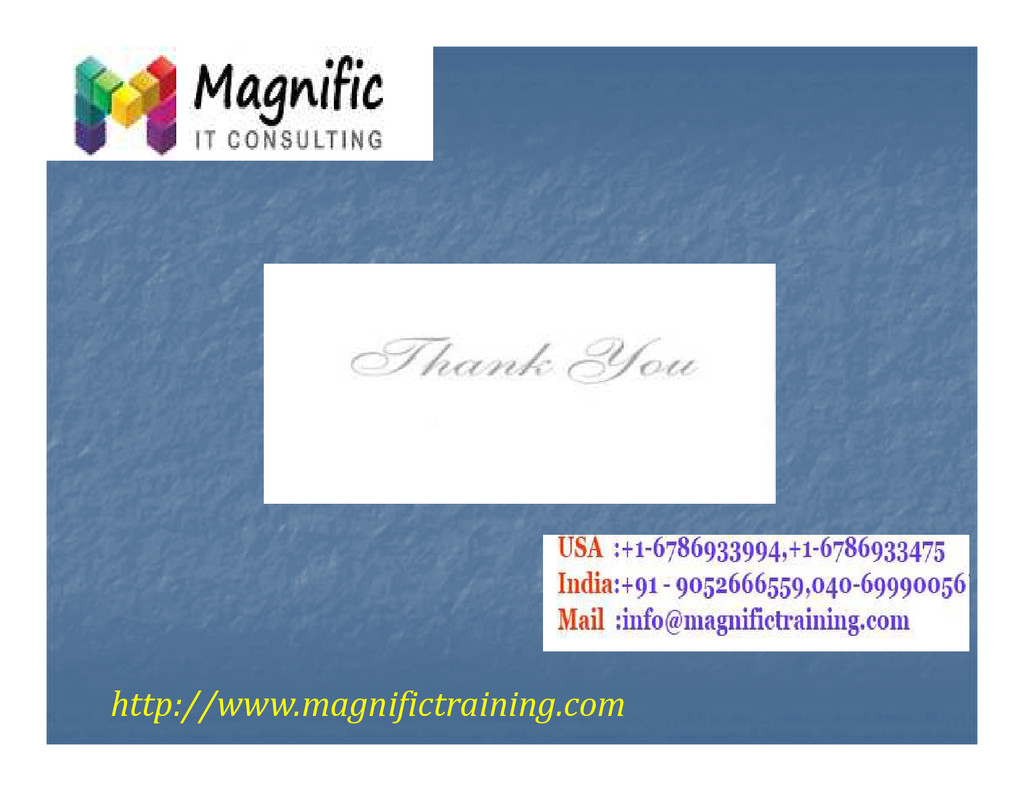 http://www.magnifictraining.com