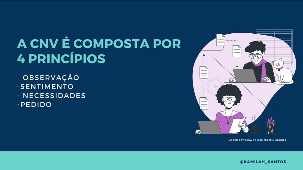 A CNV É COMPOSTA POR 4 PRINCÍPIOS - OBSERVAÇÃO ...