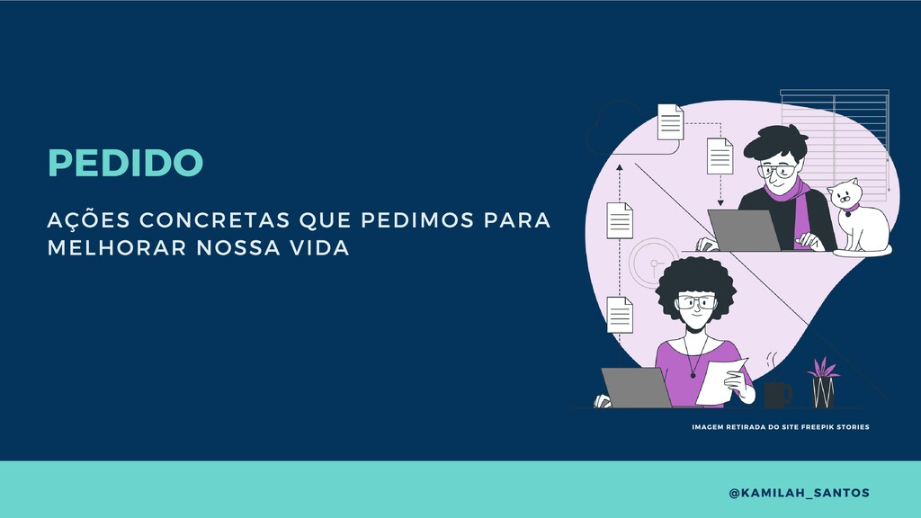 PEDIDO AÇÕES CONCRETAS QUE PEDIMOS PARA MELHORA...