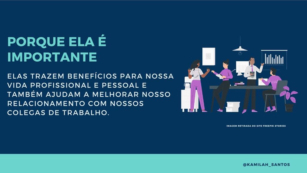 PORQUE ELA É IMPORTANTE ELAS TRAZEM BENEFÍCIOS ...