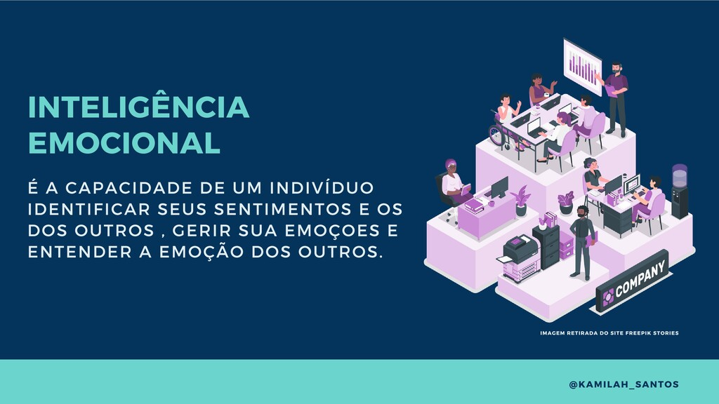 INTELIGÊNCIA EMOCIONAL É A CAPACIDADE DE UM IND...