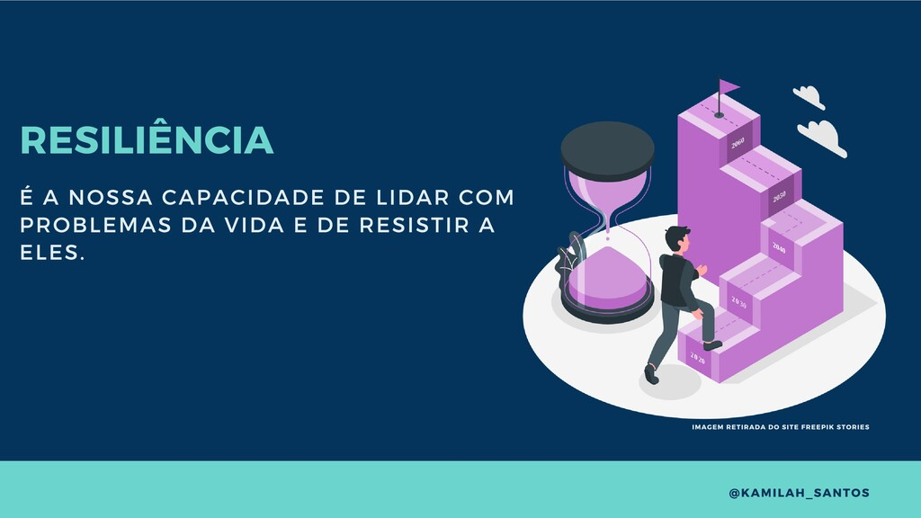 RESILIÊNCIA É A NOSSA CAPACIDADE DE LIDAR COM P...