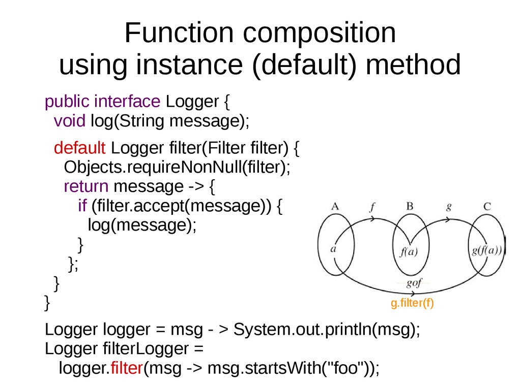 Function composition using instance (default) m...