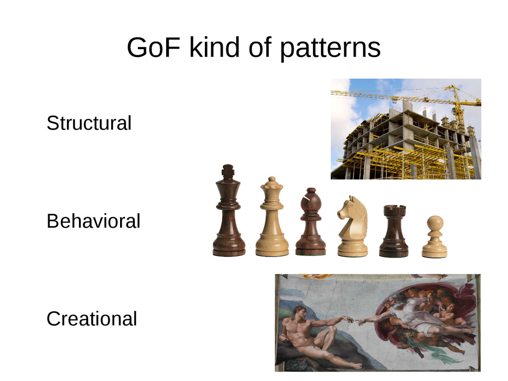 GoF kind of patterns Structural Behavioral Crea...