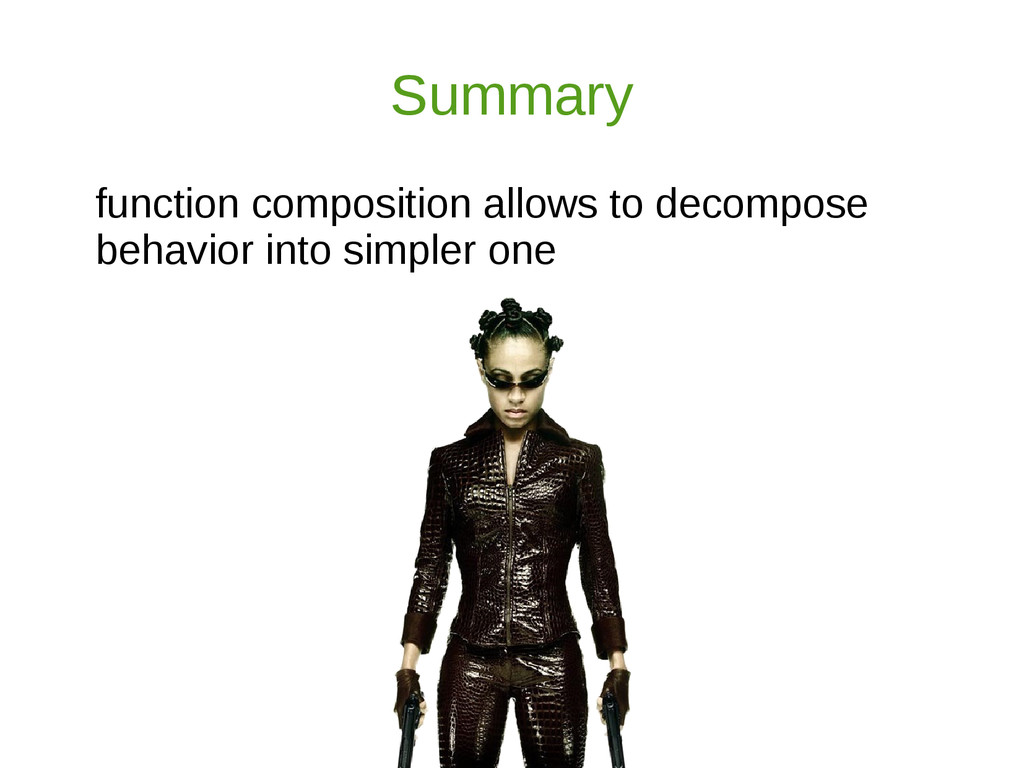 Summary function composition allows to decompos...