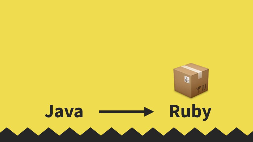 Java Ruby