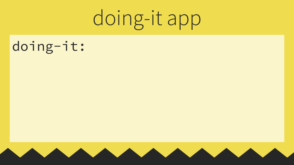 doing-it: doing-it app