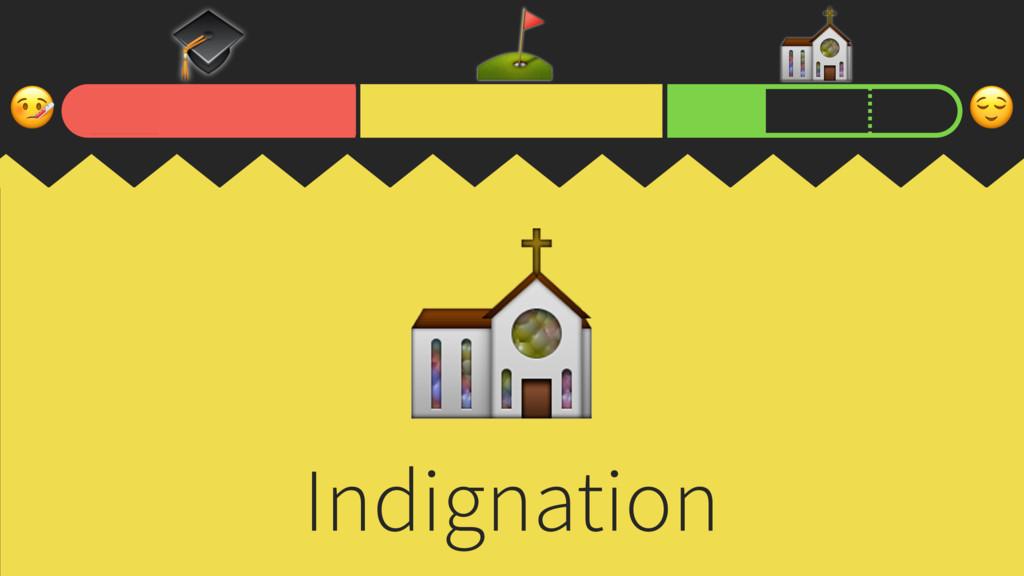 ⛳ ⛪ Indignation ⛪