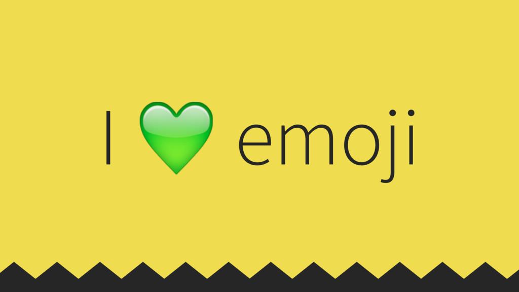 I  emoji