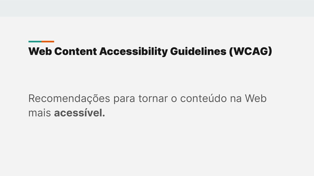Web Content Accessibility Guidelines (WCAG Rec...