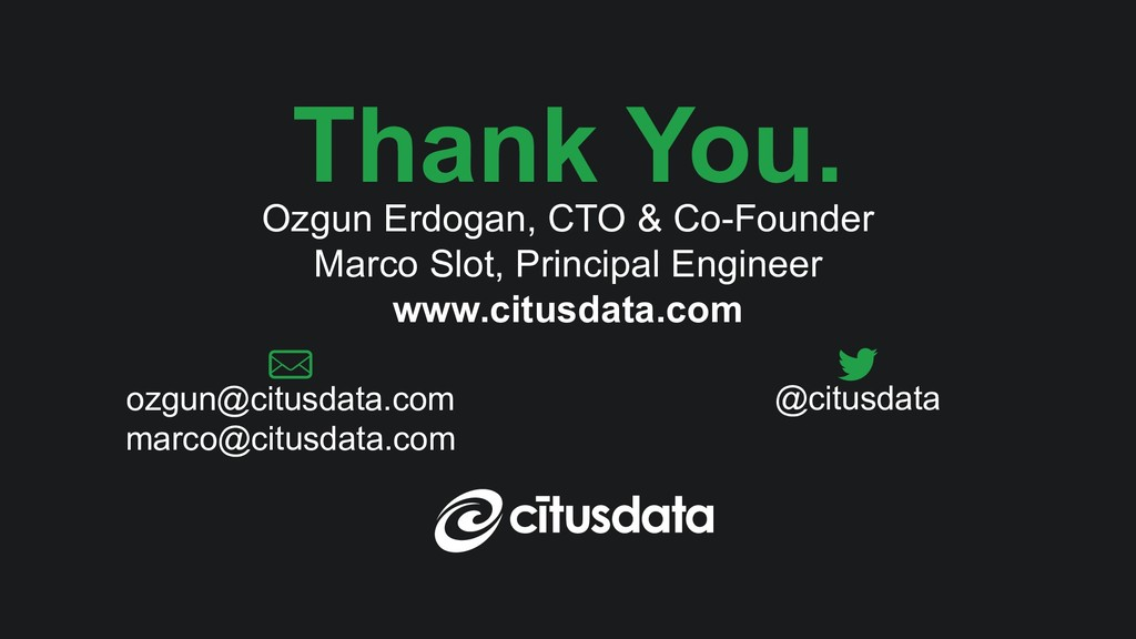 PostgresOpen SV 2018 Keynote | Ozgun Erdogan & ...