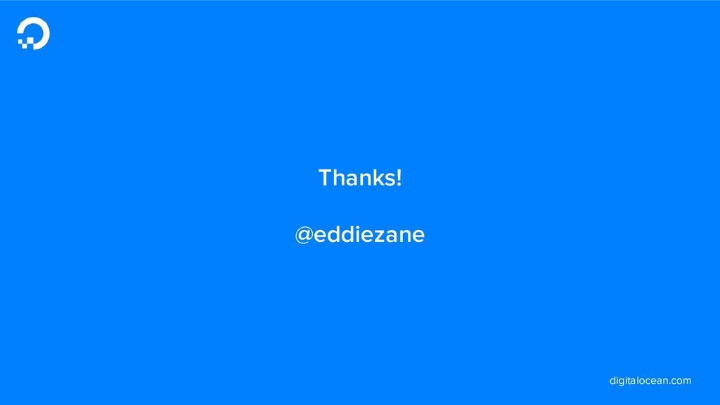 digitalocean.com Thanks! @eddiezane