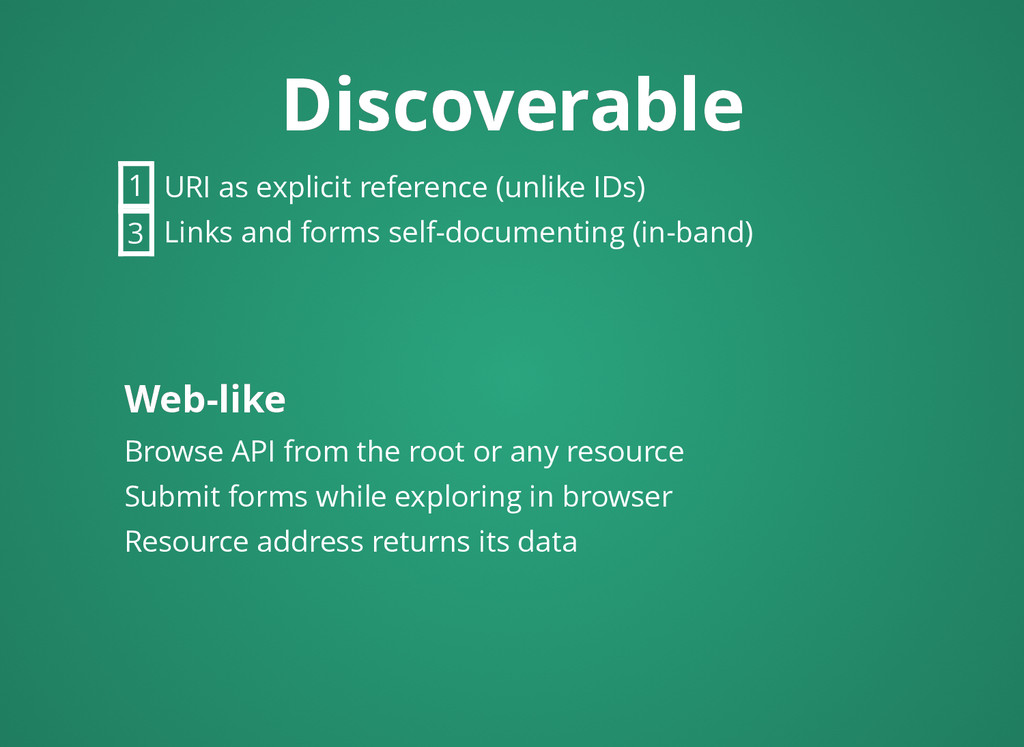 Discoverable Discoverable URI as explicit refer...