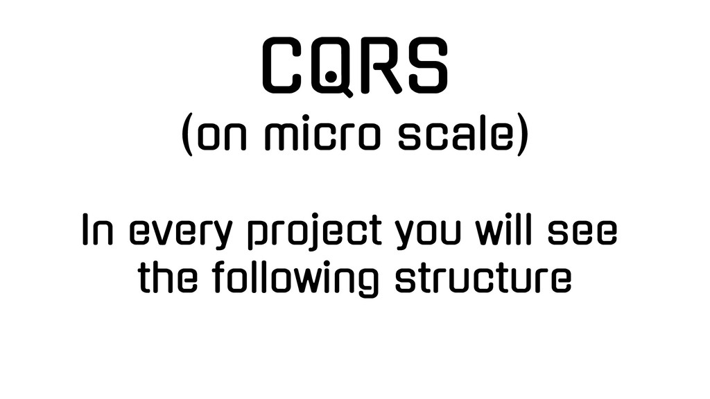 In every project you will see the following str...