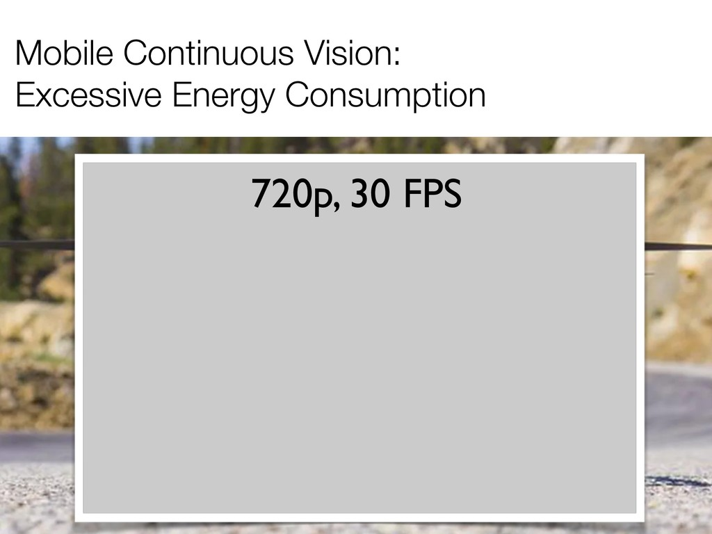 Mobile Continuous Vision: Excessive Energy Cons...