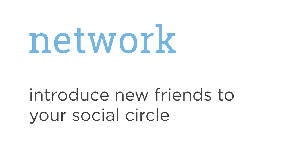 network introduce new friends to your social ci...