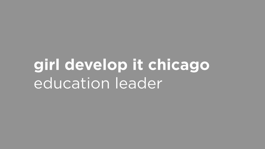 girl develop it chicago education leader