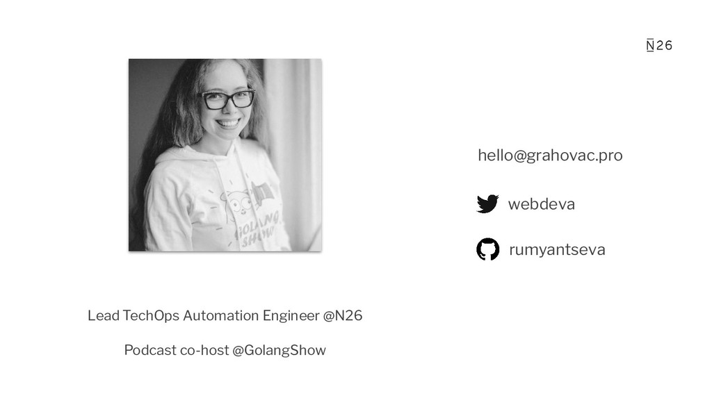 Lead TechOps Automation Engineer @N26 Podcast c...