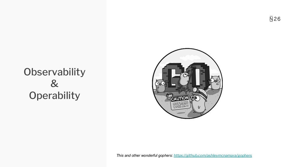 Observability & Operability This and other wond...