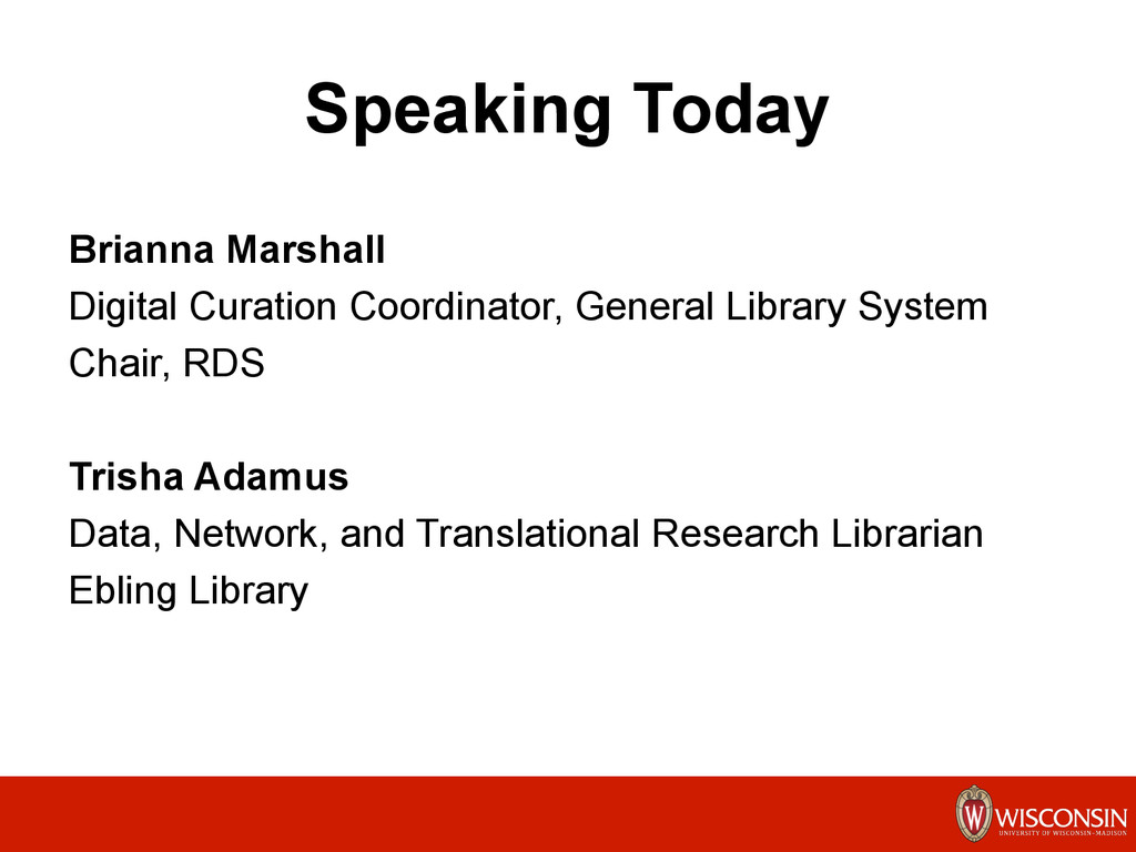 Speaking Today Brianna Marshall Digital Curatio...
