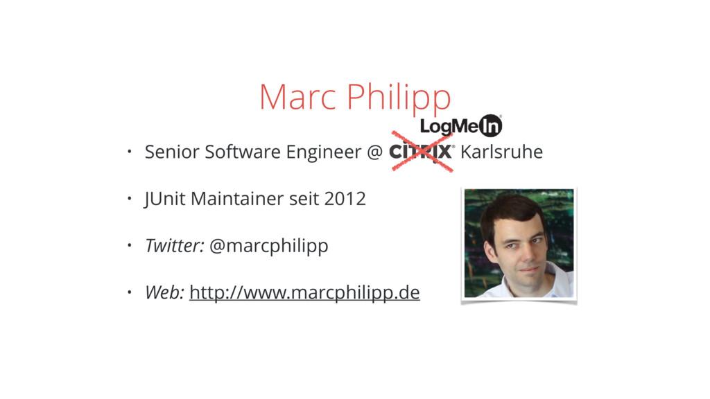 Marc Philipp • Senior Software Engineer @ Karls...