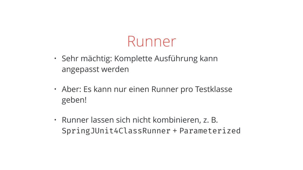 Runner • Sehr mächtig: Komplette Ausführung kan...