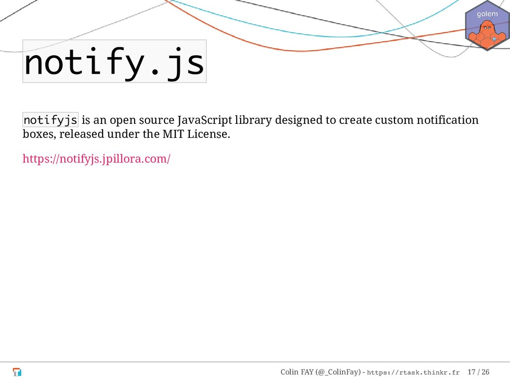 notify.js notifyjs is an open source JavaScript...