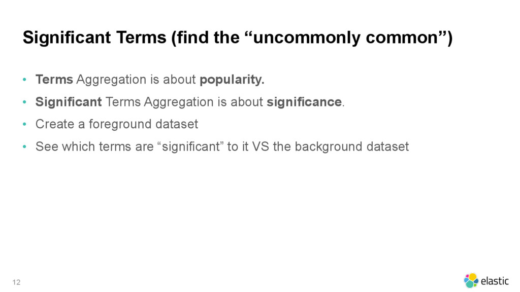 "Significant Terms (find the ""uncommonly common""..."