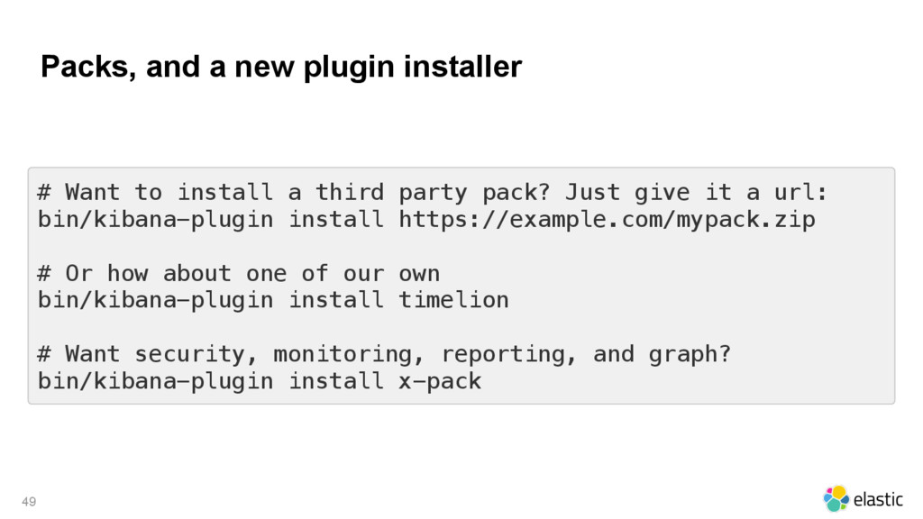 Packs, and a new plugin installer 49 # Want to ...