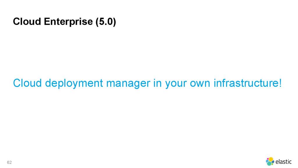 Cloud Enterprise (5.0) Cloud deployment manager...