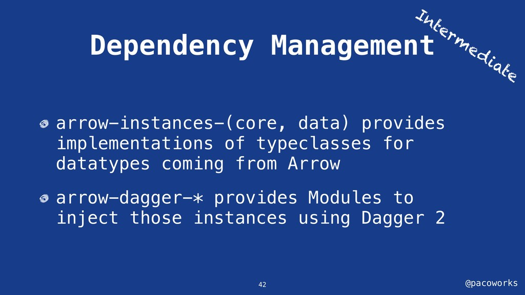 @pacoworks Dependency Management 42 arrow-insta...