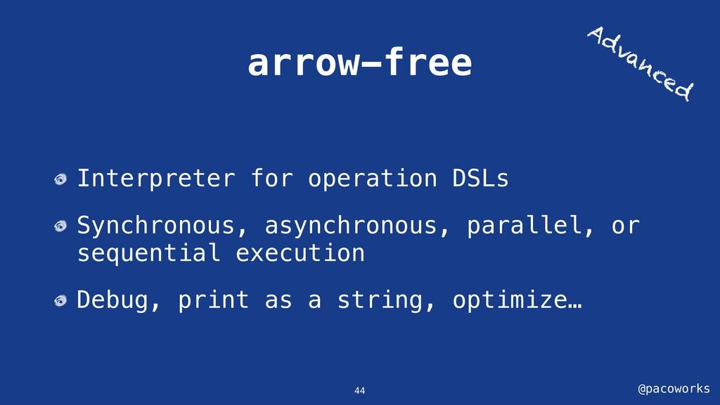 @pacoworks arrow-free 44 Interpreter for operat...