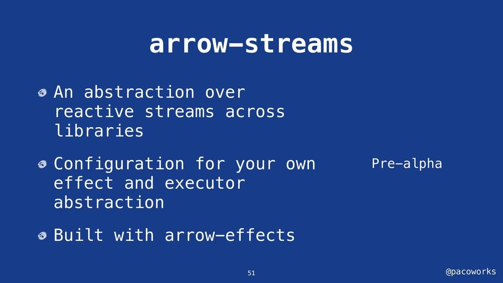 @pacoworks arrow-streams Pre-alpha 51 An abstra...