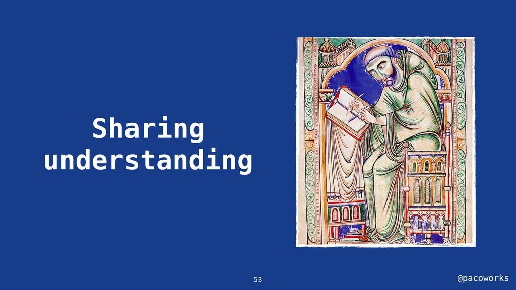 @pacoworks Sharing understanding 53