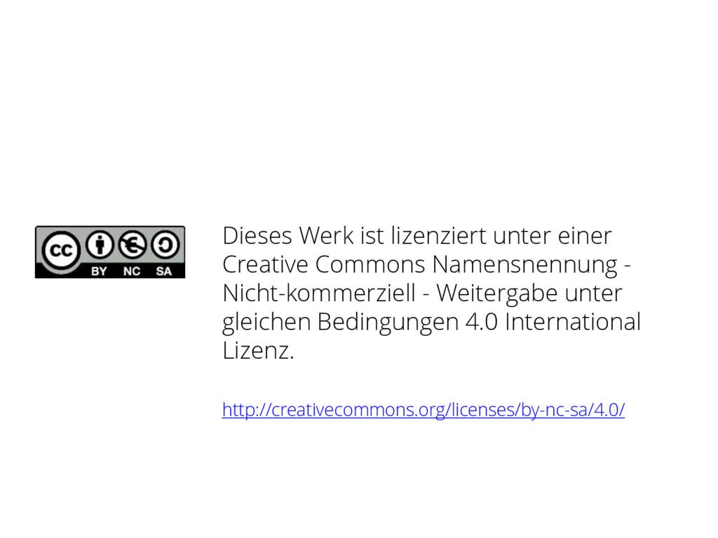 Dieses Werk ist lizenziert unter einer Creative...