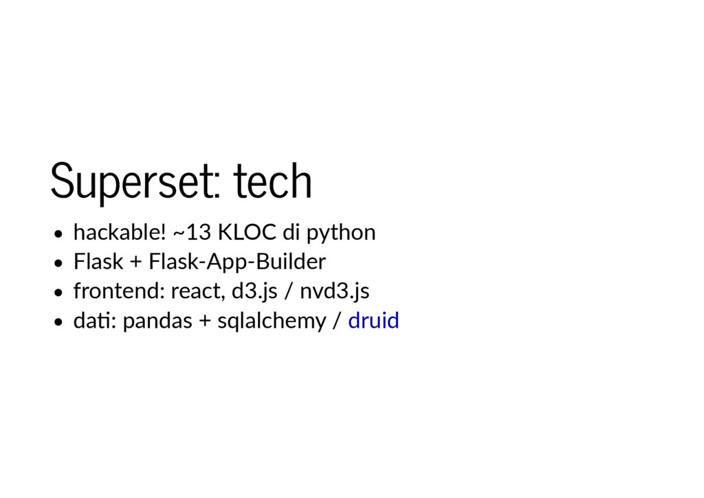 Superset: tech Superset: tech hackable! ~13 KLO...
