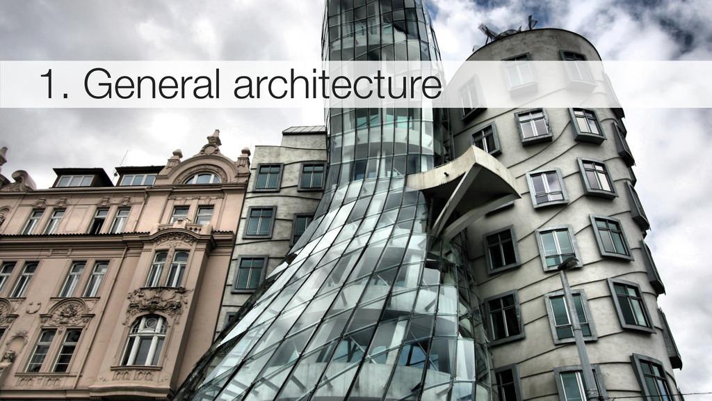 1. General architecture