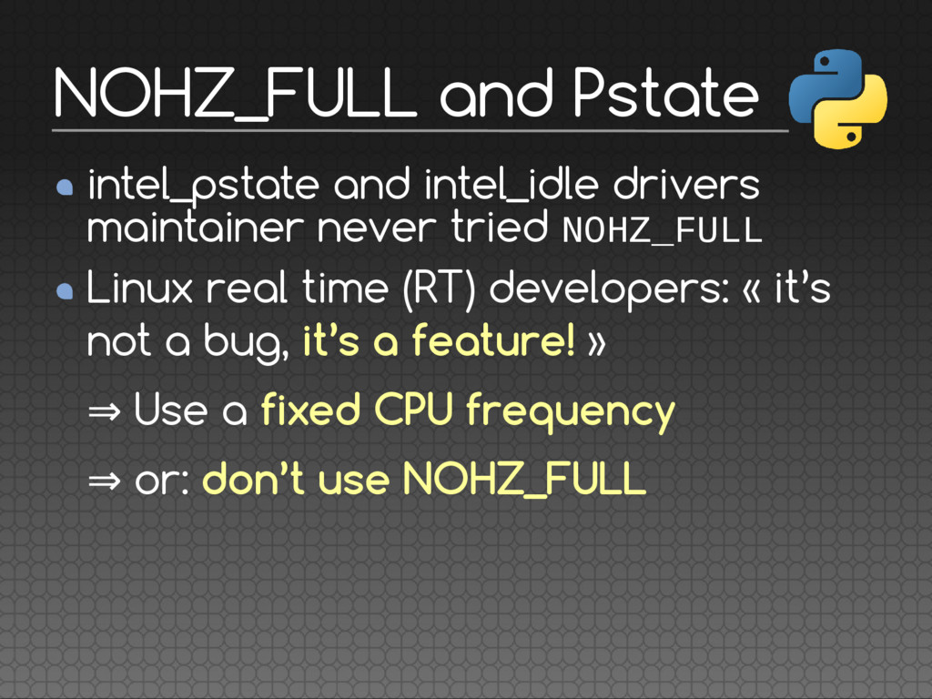 intel_pstate and intel_idle drivers maintainer ...