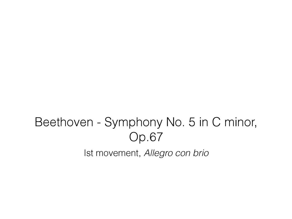 Beethoven - Symphony No. 5 in C minor, Op.67 Is...