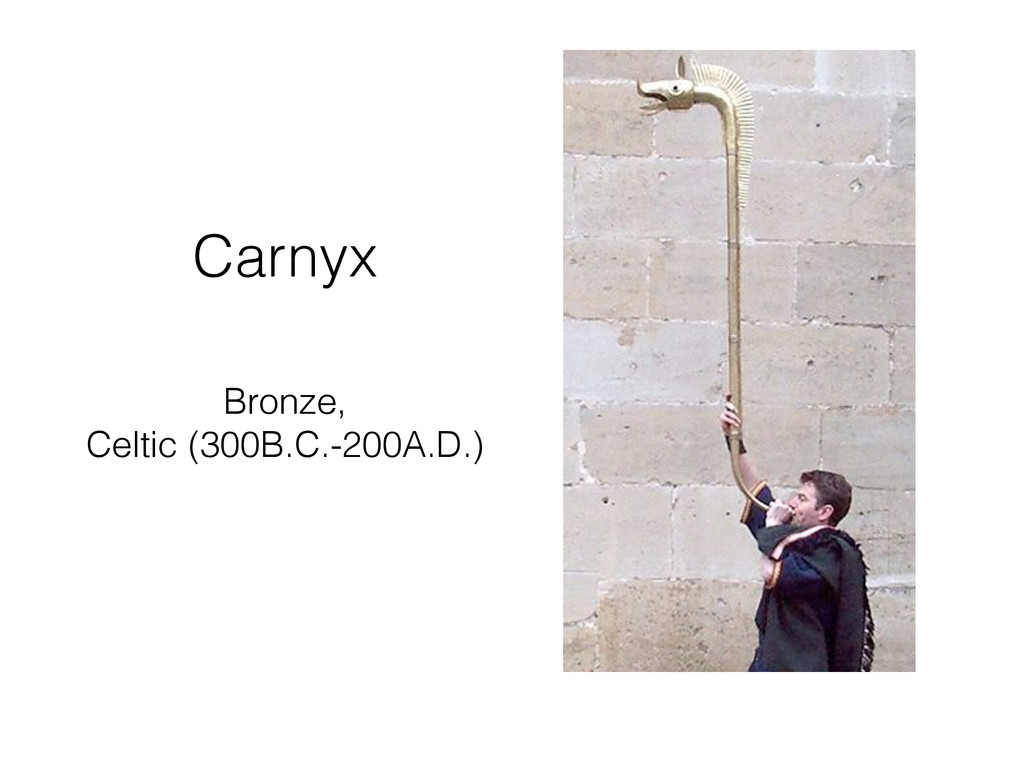 Carnyx Bronze, Celtic (300B.C.-200A.D.)
