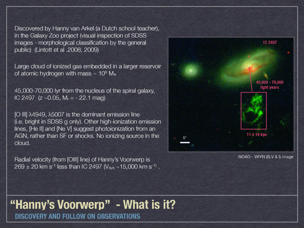 """""""Hanny's Voorwerp"""" - What is it? DISCOVERY AND ..."""