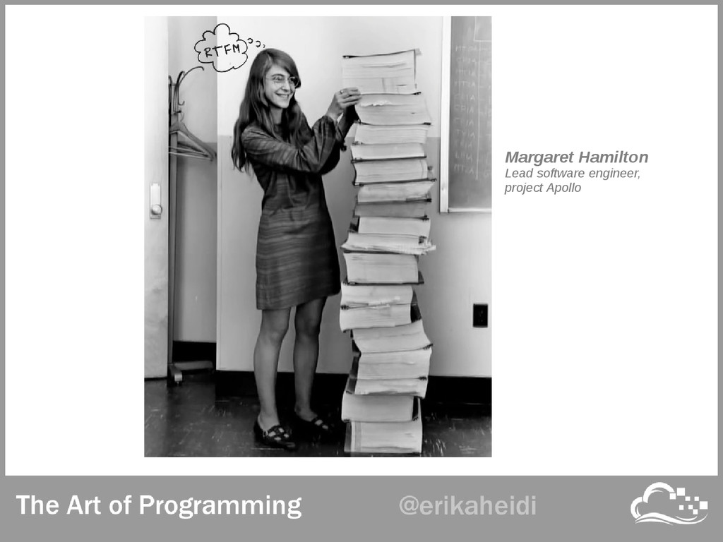Margaret Hamilton Lead software engineer, proje...