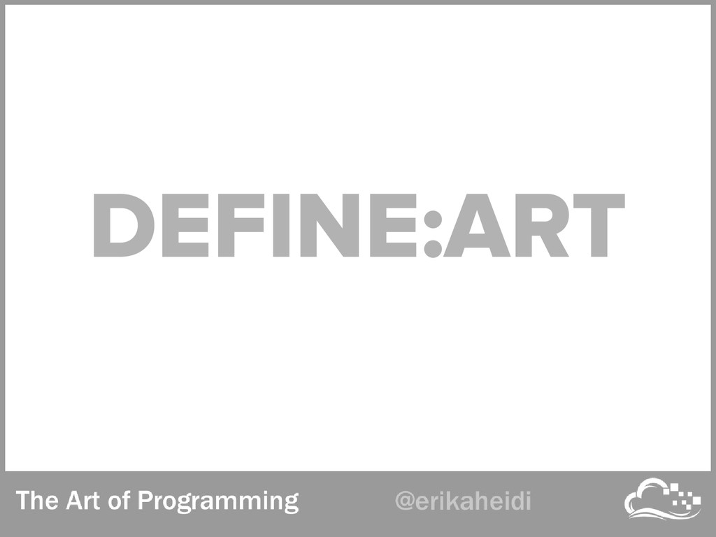 DEFINE:ART