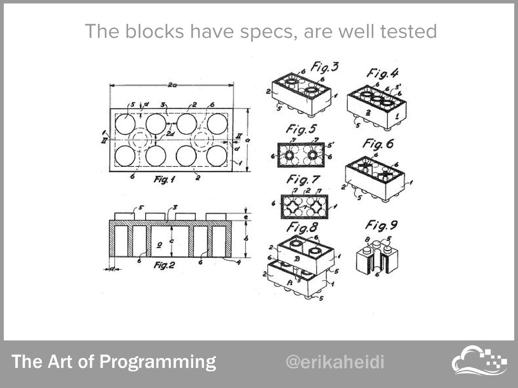 The blocks have specs, are well tested
