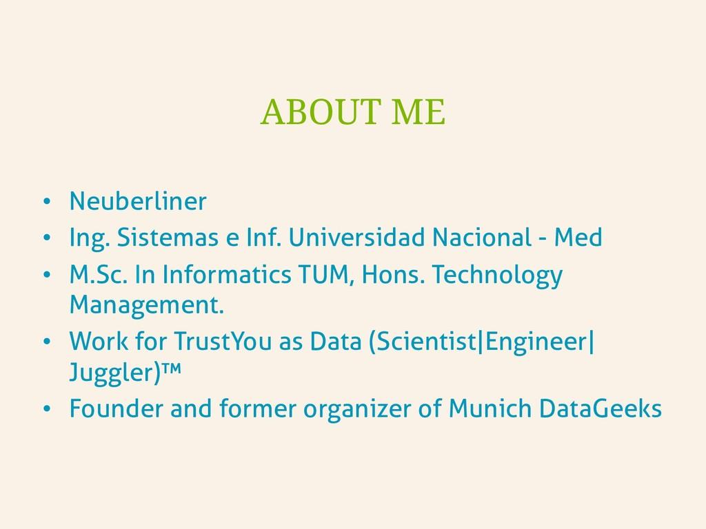 • Neuberliner • Ing. Sistemas e Inf. Universi...