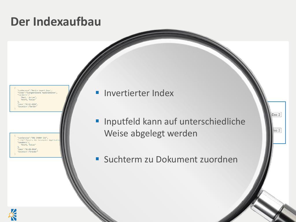  Invertierter Index  Inputfeld kann auf unter...