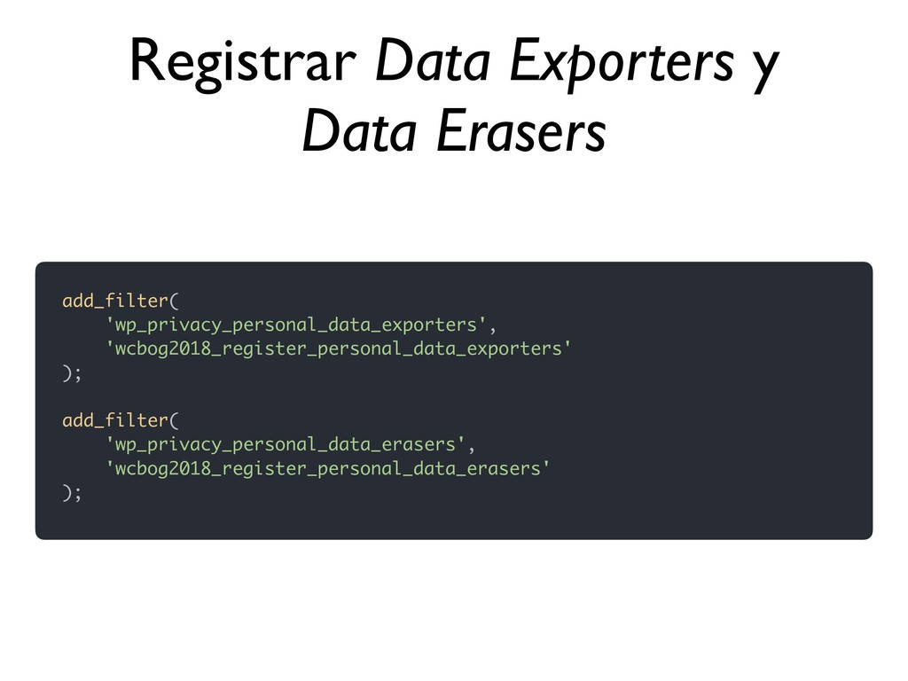 add_filter( 'wp_privacy_personal_data_exporters...