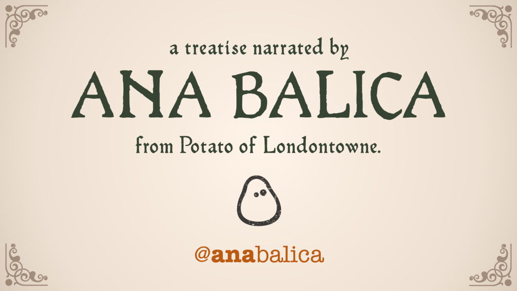 @anabalica a treatise narrated by  from Potat...