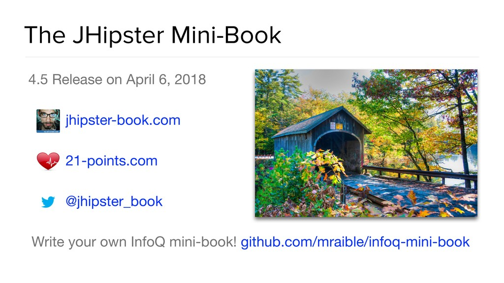 The JHipster Mini-Book 4.5 Release on April 6, ...