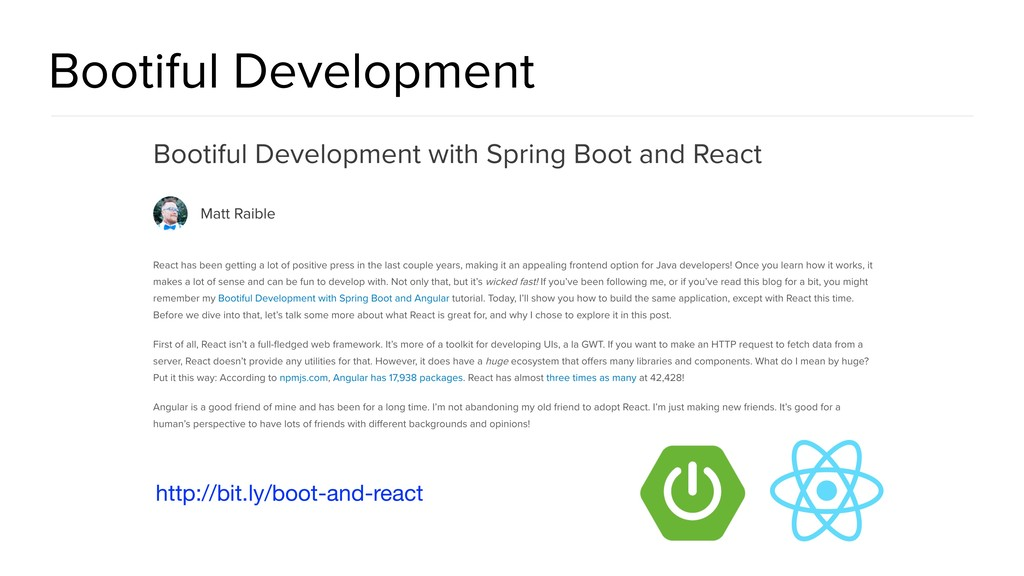 Bootiful Development http://bit.ly/boot-and-rea...